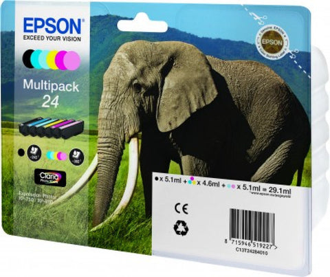 Epson 24 Multipack Ink Cartridge - akcom.net  - 1