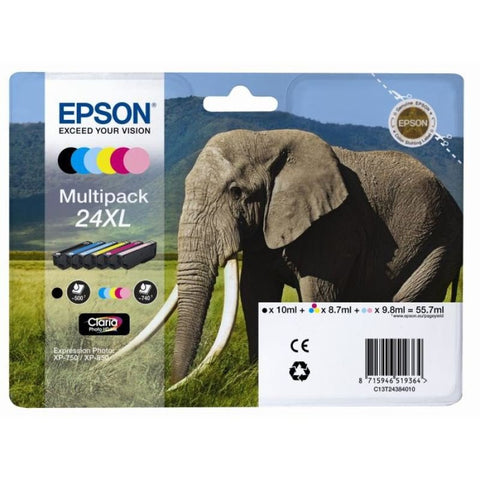 Epson 24XL Multipack Ink Cartridge- Blister - akcom.net  - 1