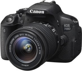 Canon EOS 700D Digital SLR With 18-55MM Lens - akcom.net  - 1