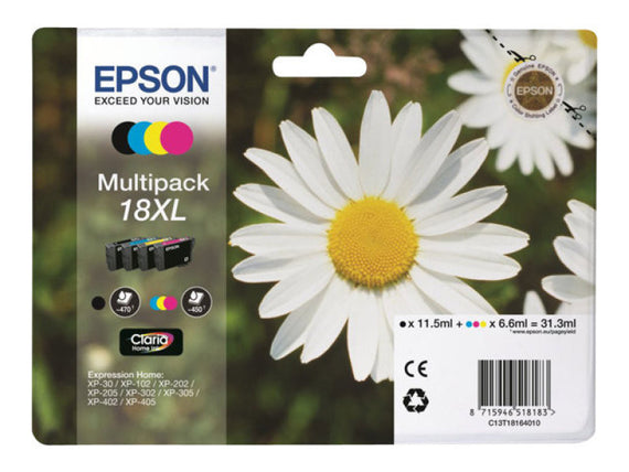 Epson 18XL Multipack Ink Cartridge - akcom.net