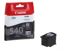 Canon PG-540 Original Black Ink Cartridge - 200 Page Yield - akcom.net  - 1