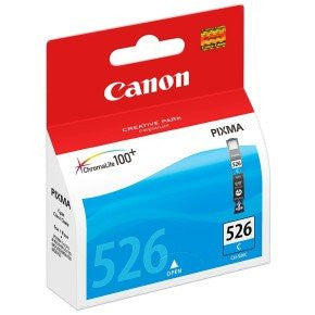 Canon CLI-526C Chroma Life 100+ Ink Cartridge - Cyan - akcom.net  - 1