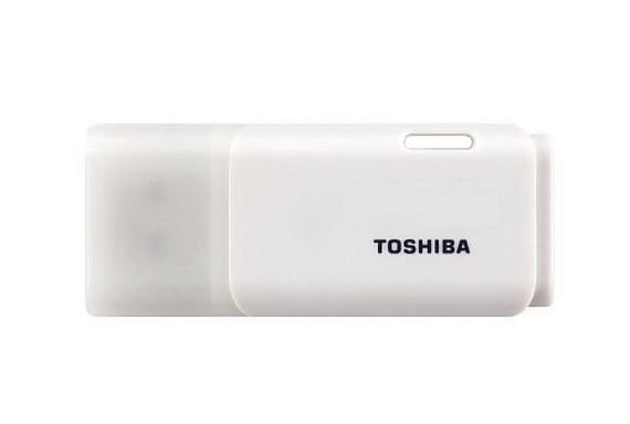 Toshiba TransMemory 8GB White USB 2.0 Flash Drive - akcom.net