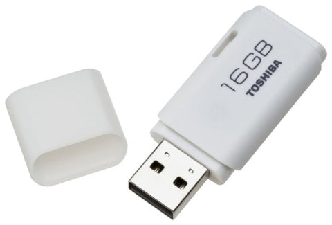 Toshiba TransMemory 16GB White USB 2.0 Flash Drive - akcom.net