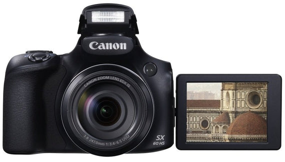 Canon PowerShot SX60 HS Camera 16.1MP 4.2 x Zoom Camera - akcom.net