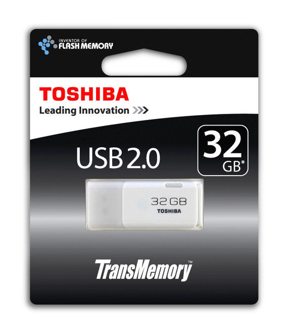 Toshiba 32GB TransMemory USB 2.0 Flash Drive - akcom.net