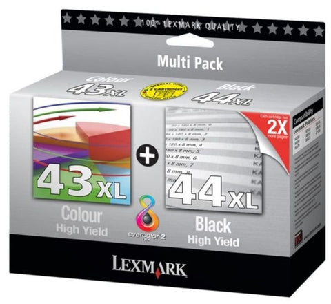 Lexmark #43 and #44 Combo Pack - akcom.net