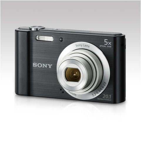 Sony Cyber-shot DSC-W800 Black Camera - akcom.net  - 1
