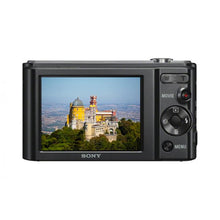 Sony Cyber-shot DSC-W800 Black Camera - akcom.net
