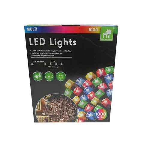 1000 Multicolour LED Lights
