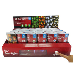 LED Decorative Lights - 10 Pack - Christmas World