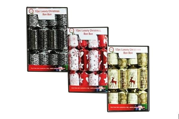 12 PCS LUXURY CHRISTMAS BONBON