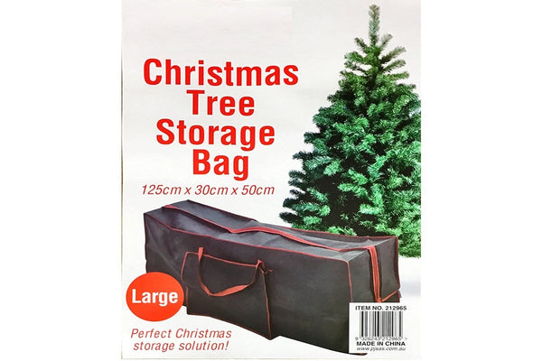 Large Christmas Tree Storage Bag 125x30x50cm