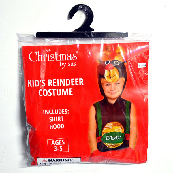 Kids Reindeer Costume - Christmas World
