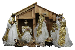 LIMITED STOCK: Nativity Scene Full Set With 50cm tall Stable