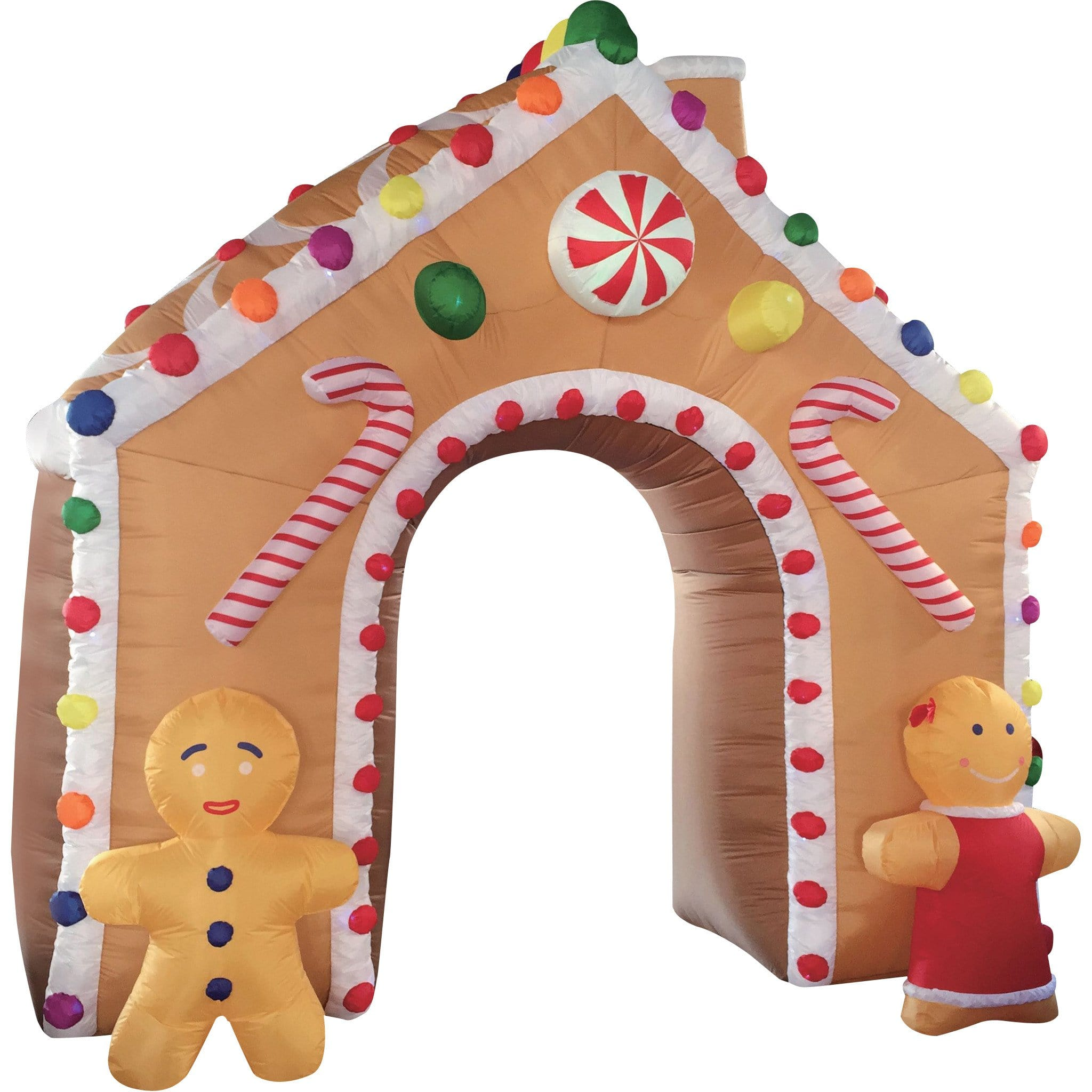 Inflatable GINGERBREAD ARCH : Christmas World
