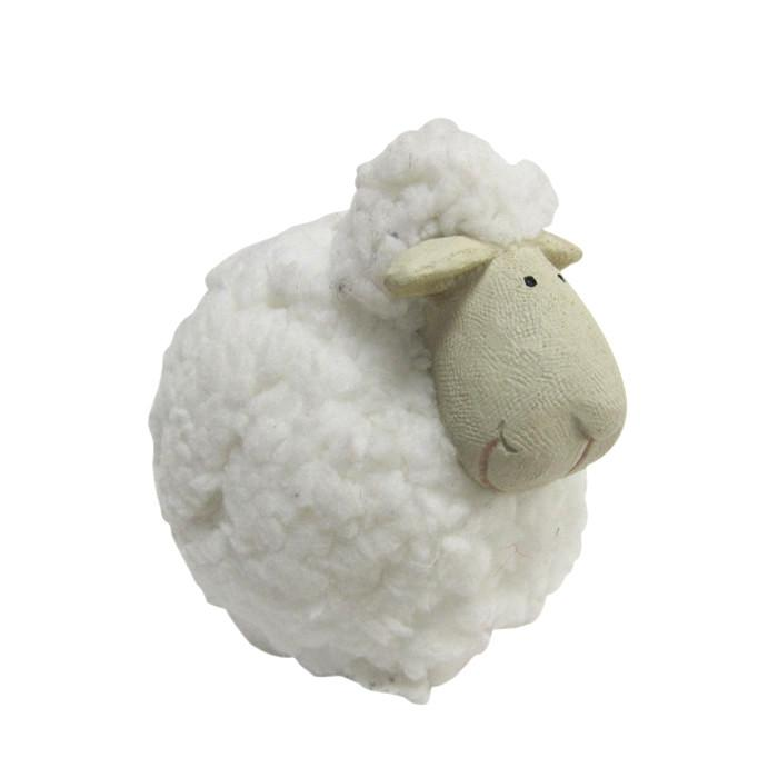 Wooly Sheep Decoration - Christmas World