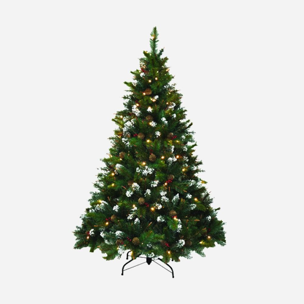 6ft Canadian Pre-Lit Christmas tree - Christmas World
