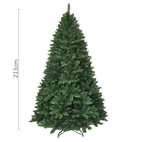 7ft Radiata Pine Green Christmas Tree