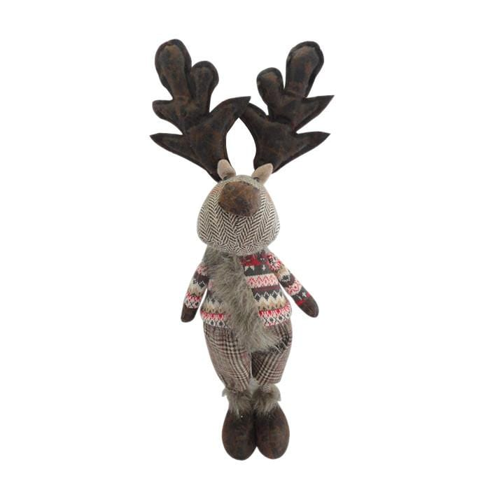 Standing Reindeer Decoration - Christmas World
