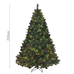 LED Deluxe Royal Pine Christmas Tree - 2.1m tall - Christmas World