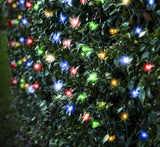 LED Net Lights 320 LED's Waterfall Effect Multi Colour - Christmas World