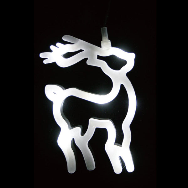 LED Window Decor with Suction - Christmas World