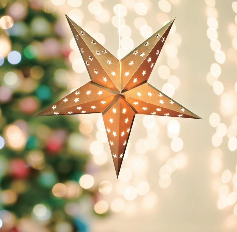 LED Pop Out Star 45cm - Christmas World