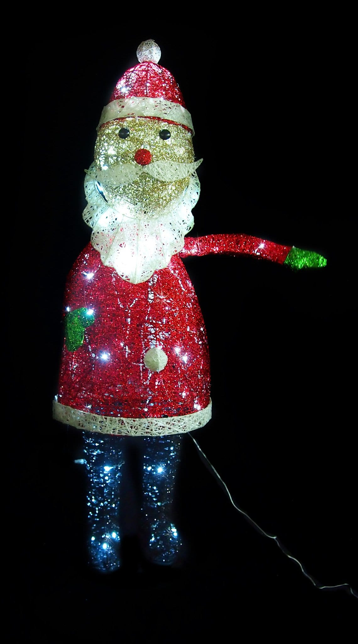 LED Moving Santa Display - Christmas World