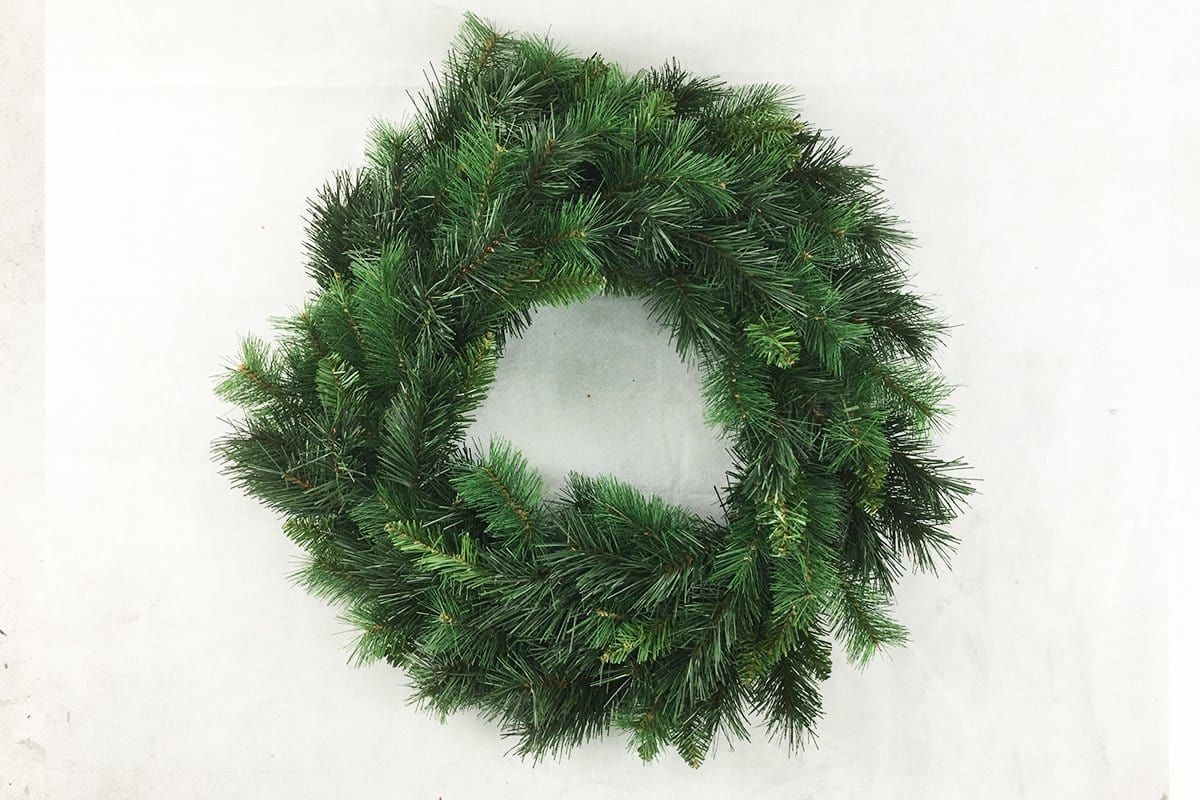 NEW CAROLINA SPRUCE 60 cm DOUBLE WREATH