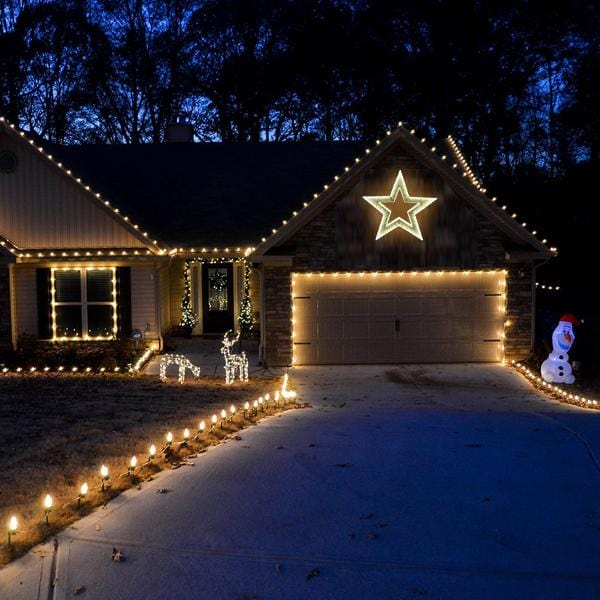 PRICE DOWN: LED TINSEL 3D STAR 50cm