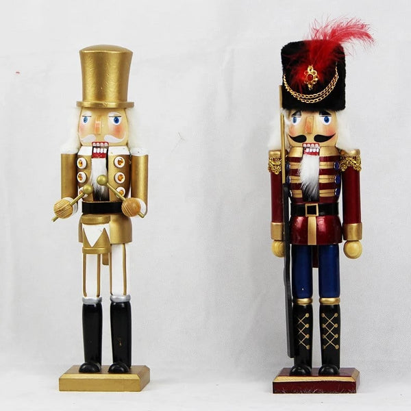 WOODEN CHRISTMAS NUTCRACKER 38 cm