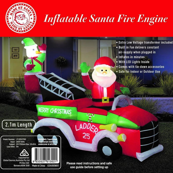 New Arrival: AIRPOWER SANTA ON FIRE TRUCK