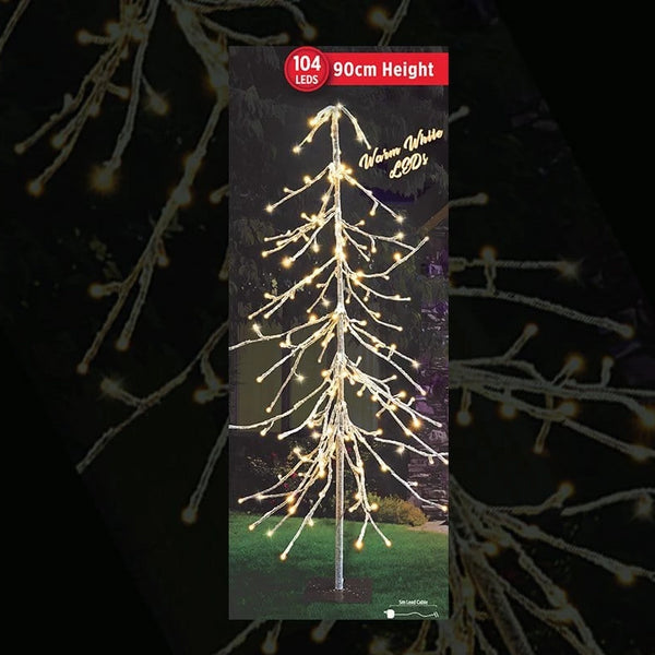 PRICE DOWN: LED ICY DROP TREE 90cm