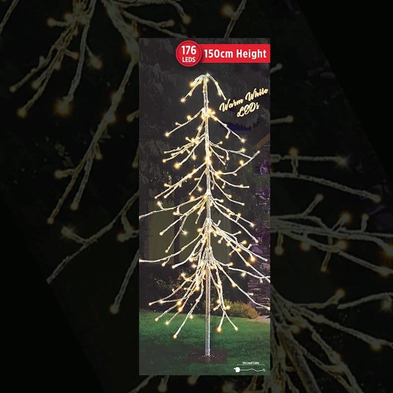 PRICE DOWN: LED ICY DROP TREE 150cm