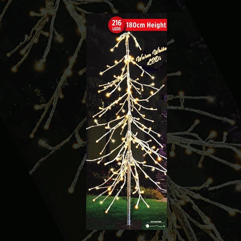 NEW ARRIVAL: LED ICY DROP TREE 180cm