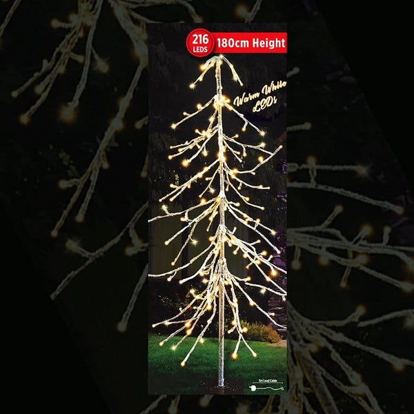 PRICE DOWN: LED ICY DROP TREE 180cm