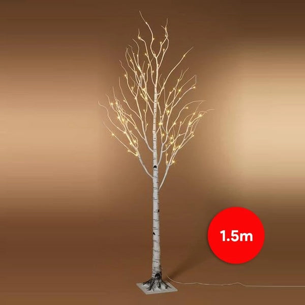 PRICE DOWN: LED BIRCH TREE 150cm