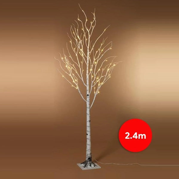 PRICE DOWN: LED BIRCH TREE 240cm