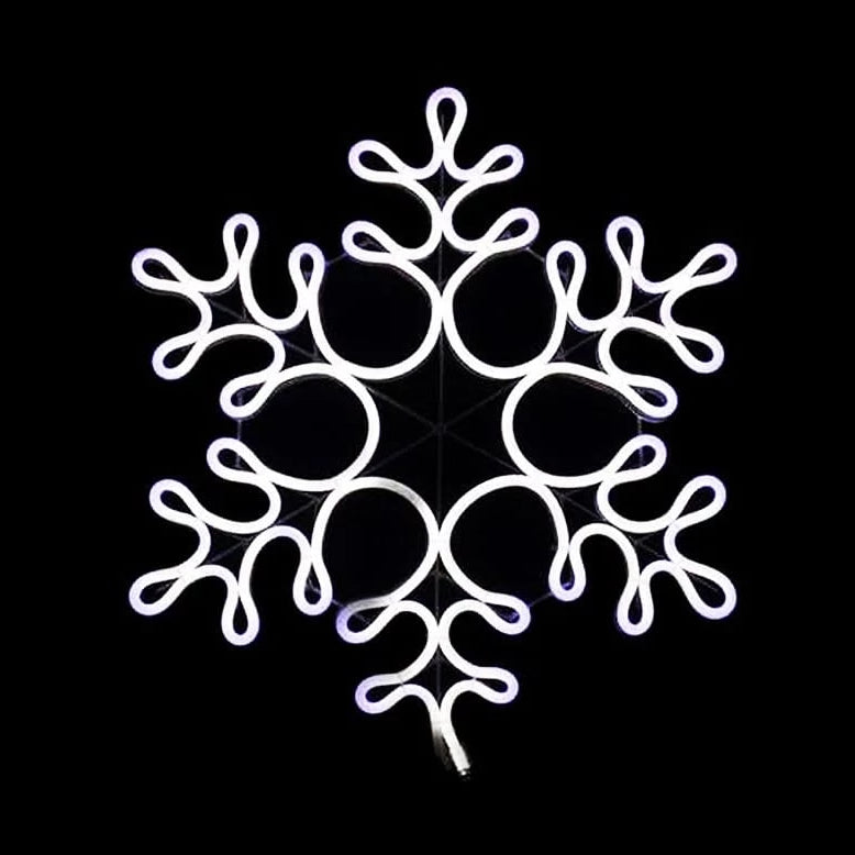 NEON LED FLEX STRIP SNOWFLAKE