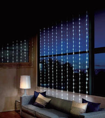 LED WATERFALL CURTAIN 2x2m WHITE