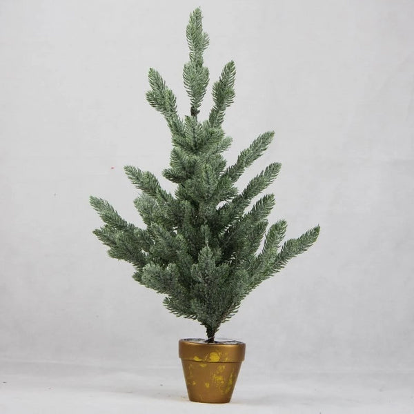 Snowy Potted Christmas Tree - 60cm
