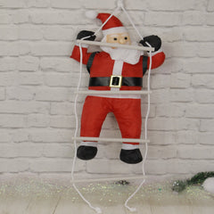 Hanging Santa Deco - Ladder and Swing