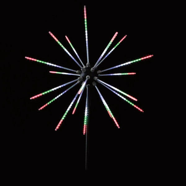 LED Starburst Firework Pole - 2.5m