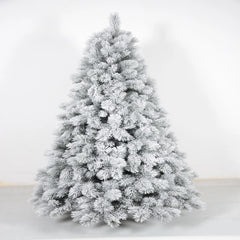Snow Flocked Fir Christmas Tree - 2.1m