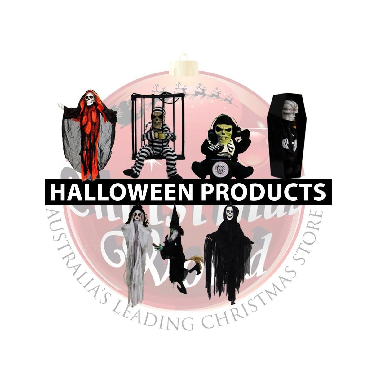 Halloween Character Table Deco - Christmas World
