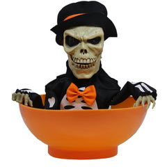 Halloween Skul Candy Bowl - Christmas World
