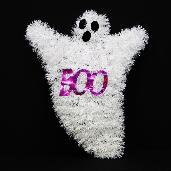 Halloween Tinsel Ghost - Christmas World