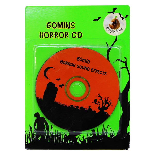 Halloween Horror Music CD - Christmas World