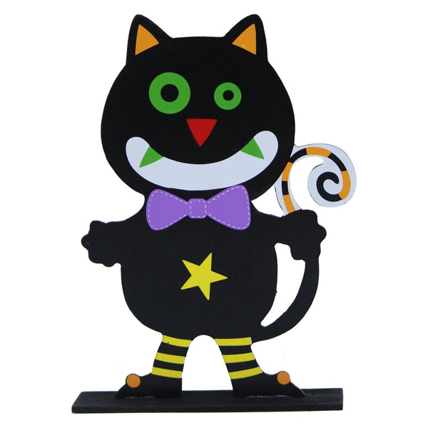 Halloween Cat Table Top - Christmas World